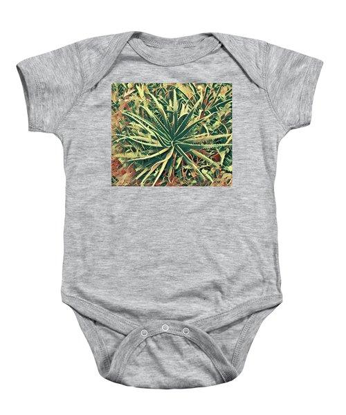 Aloha Aloe In Puna Baby Onesie