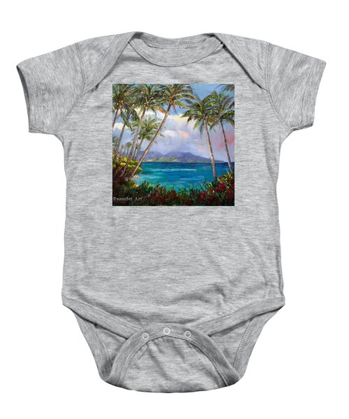 Aloha! Just Dreaming About #hawaii Baby Onesie