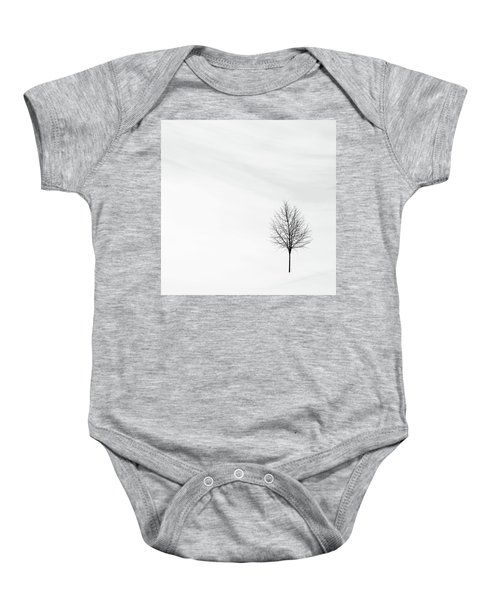 Alone In The Storm Baby Onesie