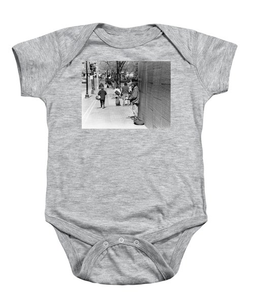 Not Alone  Baby Onesie