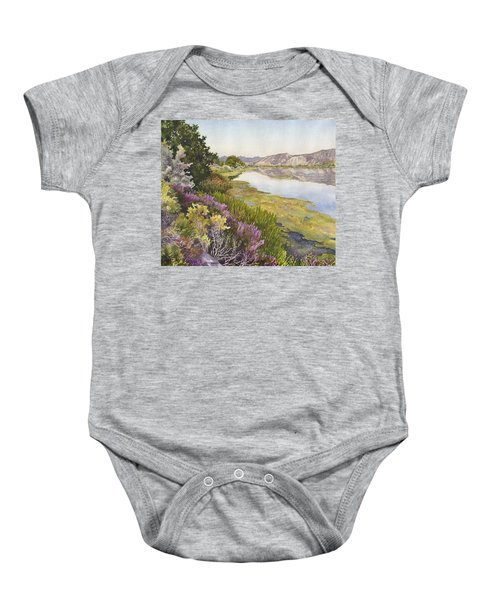 Along The Oregon Trail Baby Onesie