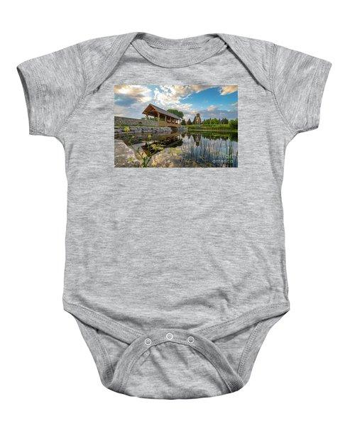 Alpena Michigan Duck Park -0257 Baby Onesie