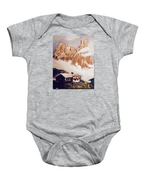 Alpine Home  Baby Onesie