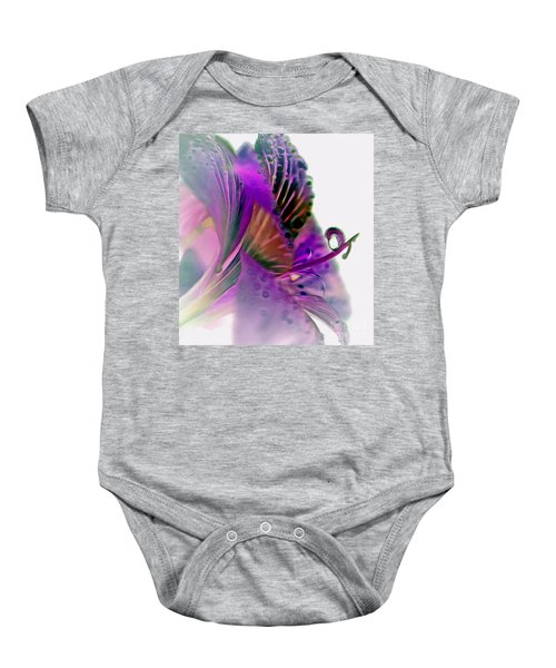 Amaryllis Butterfly II Baby Onesie