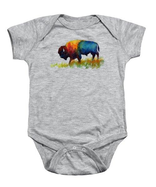 American Buffalo IIi Baby Onesie