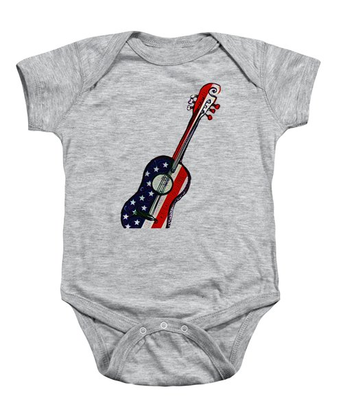 American Rock And Roll Baby Onesie