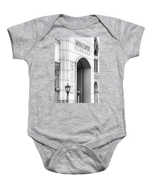 Amon Carter Stadium 110416 Bw Baby Onesie