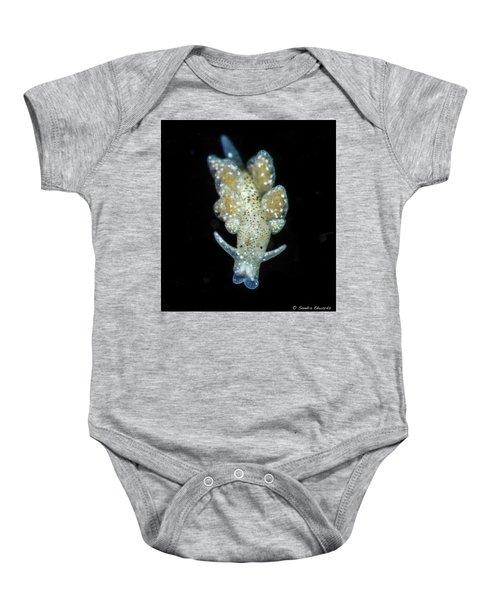 An Ercelania Fuscata Baby Onesie