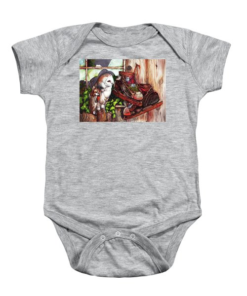 An Unwelcome Visitor Baby Onesie