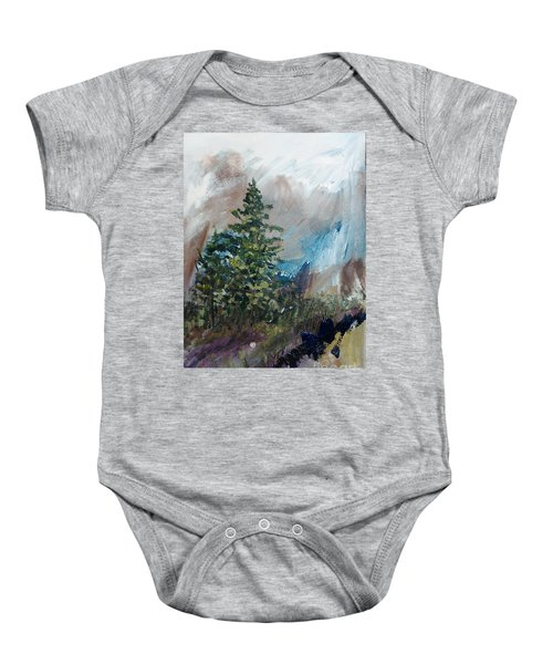 An Yosemite Afternoon Baby Onesie