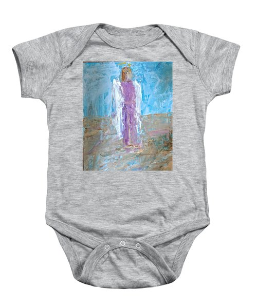 Angel With Confidence Baby Onesie