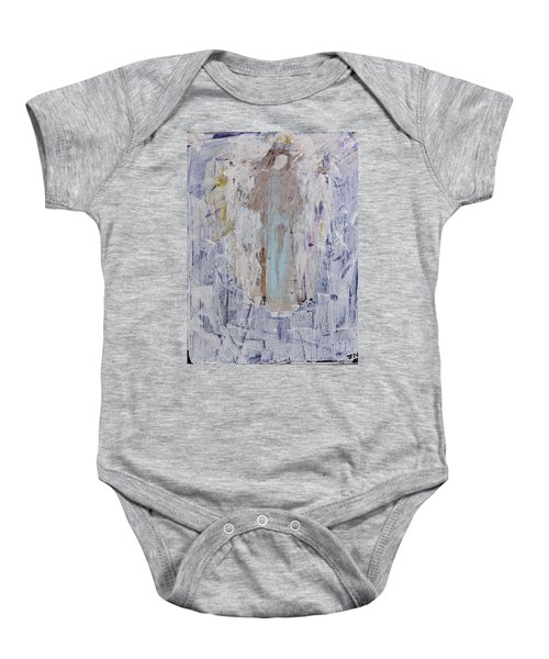 Angel With Her Horse Baby Onesie