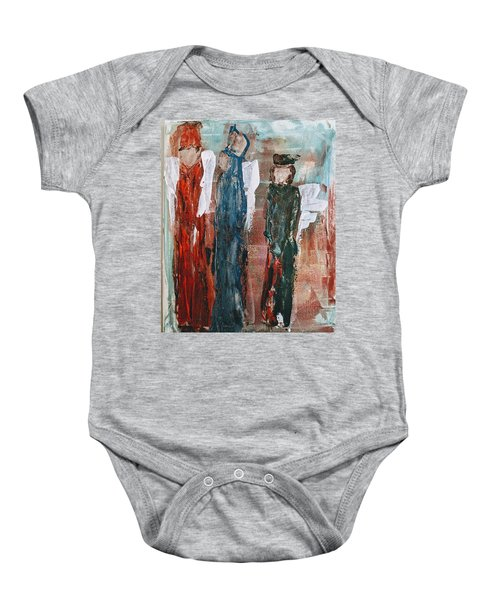 Angels Of The Night Baby Onesie