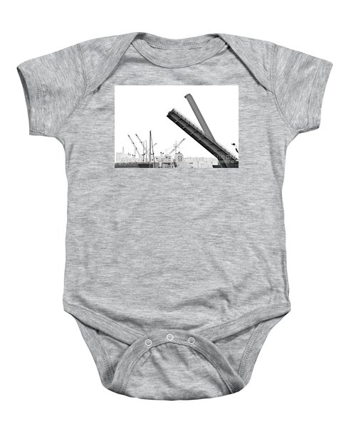 Baby Onesie featuring the photograph Angle Of Approach by Stephen Mitchell