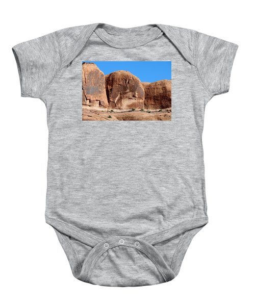 Angry Rock - 3  Baby Onesie