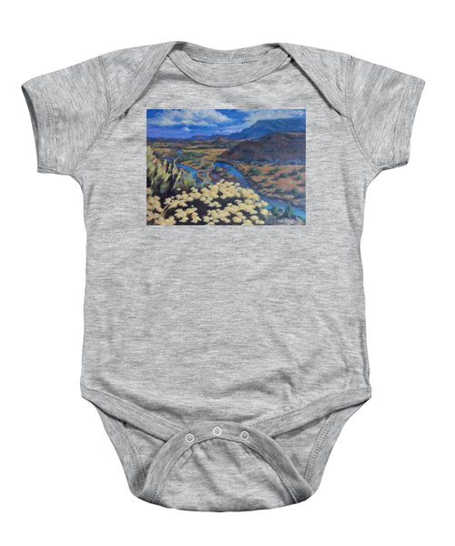 Another Day Above Rio Chama Baby Onesie