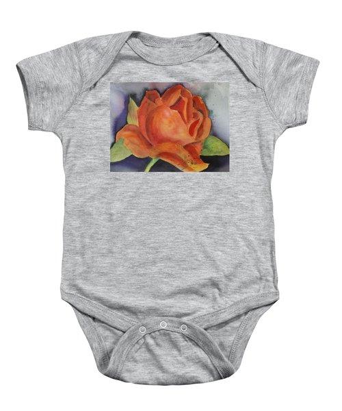 Another Rose Baby Onesie