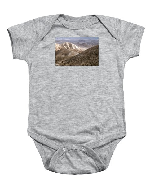 Another View From Masada Baby Onesie by Dubi Roman