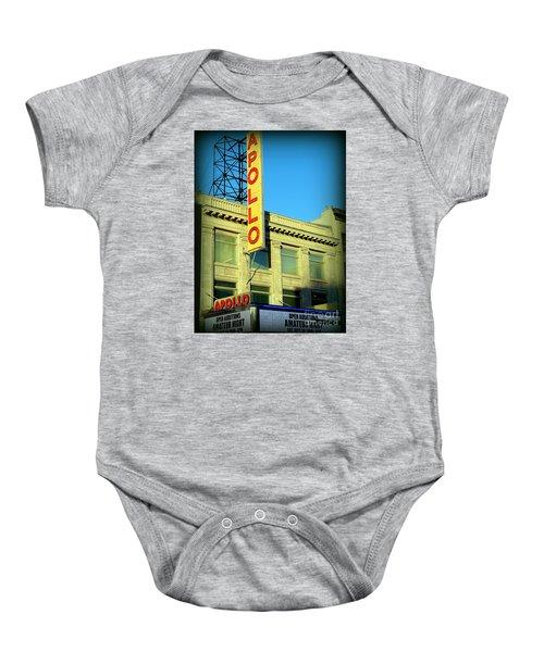 Apollo Vignette Baby Onesie