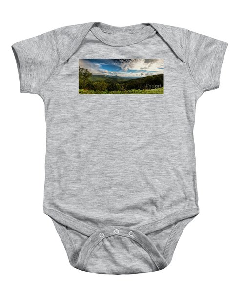 Appalachian Foothills Baby Onesie
