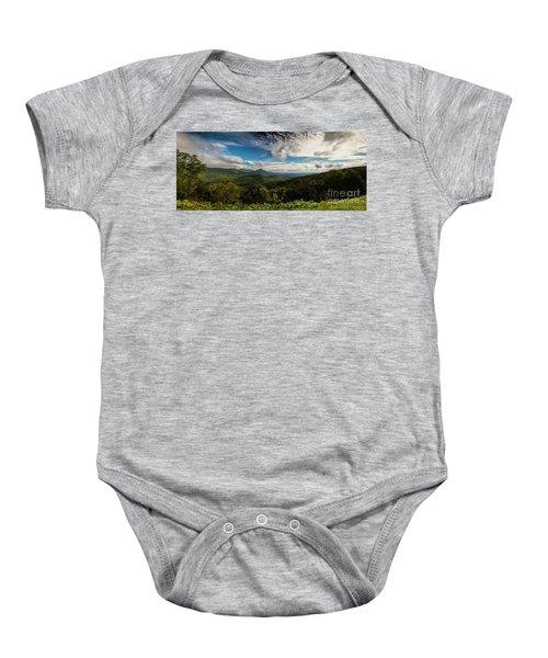 Appalachian Foothills Baby Onesie