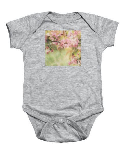 Apple Blossom Frost Baby Onesie