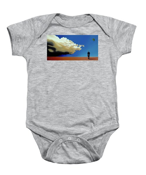 Approaching Storm Baby Onesie