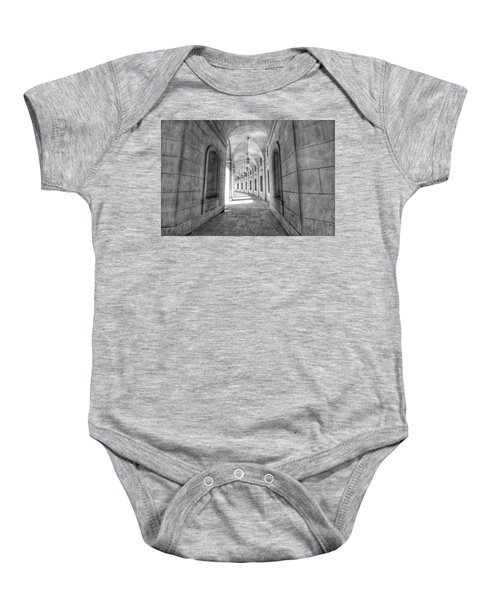 Arched Baby Onesie