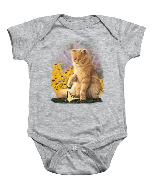 Archibald And Friend Baby Onesie by Lucie Bilodeau