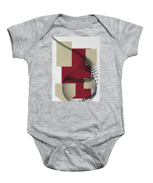 Arizona Diamondbacks Art Baby Onesie by Joe Hamilton