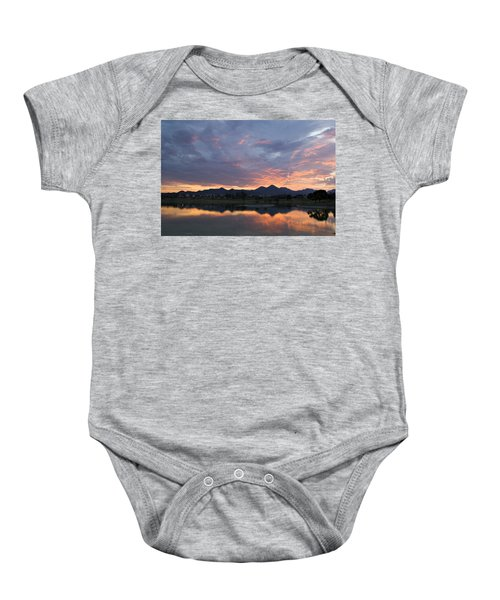 Arizona Sunset Baby Onesie