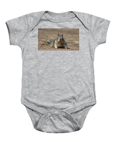 Army Crawl  Baby Onesie