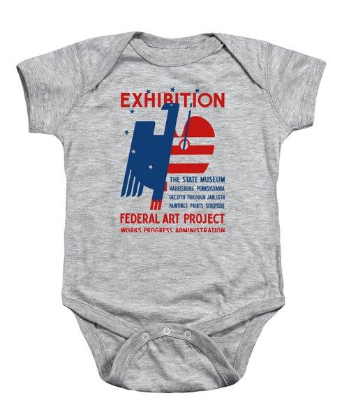 Art Exhibition The State Museum Harrisburg Pennsylvania Baby Onesie