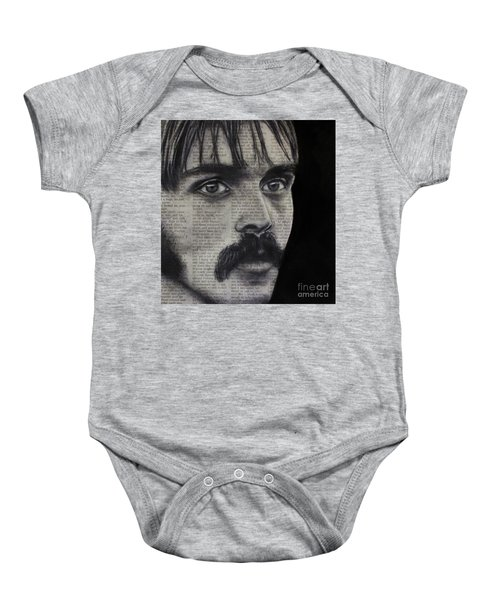 Art In The News 95-steve Prefontaine Baby Onesie