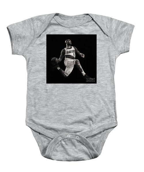 Art In The News- Lillard Baby Onesie