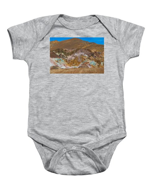 Artists Palette At Death Valley Baby Onesie