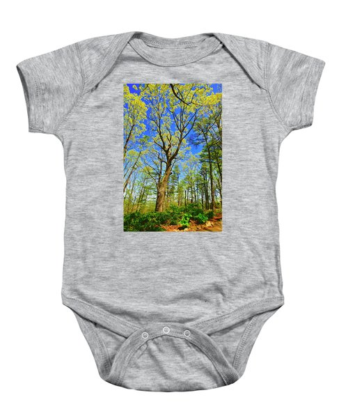 Artsy Tree Series, Early Spring - # 04 Baby Onesie