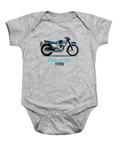 Triumph Bonneville Baby Onesie