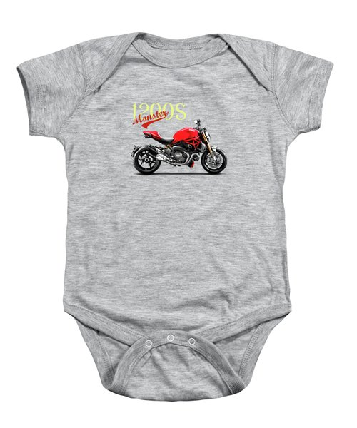 Ducati Monster Baby Onesie by Mark Rogan