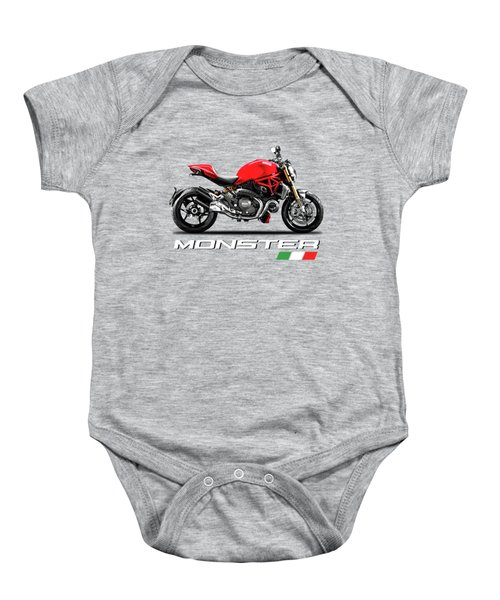 Ducati Monster Baby Onesie
