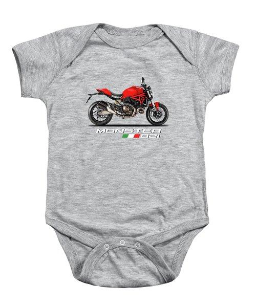 Ducati Monster 821 Baby Onesie