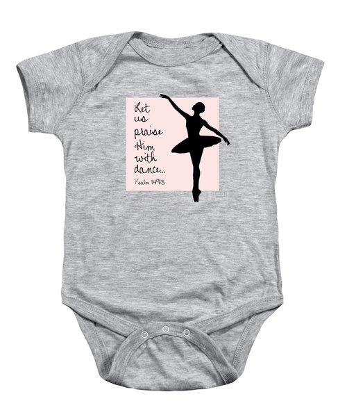 Ballerina Praise Baby Onesie