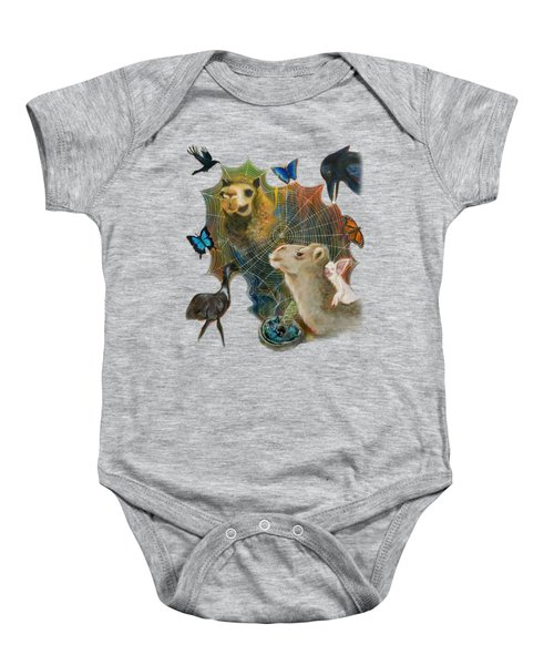 Sacred Journey Baby Onesie by Deborha Kerr