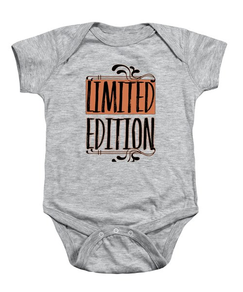 Limited Edition Baby Onesie