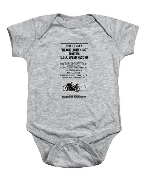 Rollie Free Flying Mile Baby Onesie