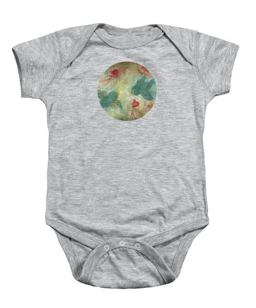 Lovebirds Baby Onesie by Mary Wolf