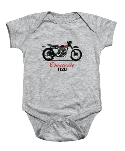 1959 T120 Bonneville Baby Onesie