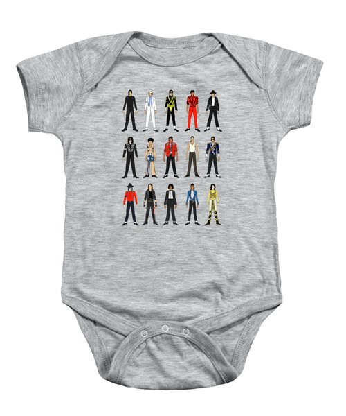 Outfits Of Michael Jackson Baby Onesie by Notsniw Art