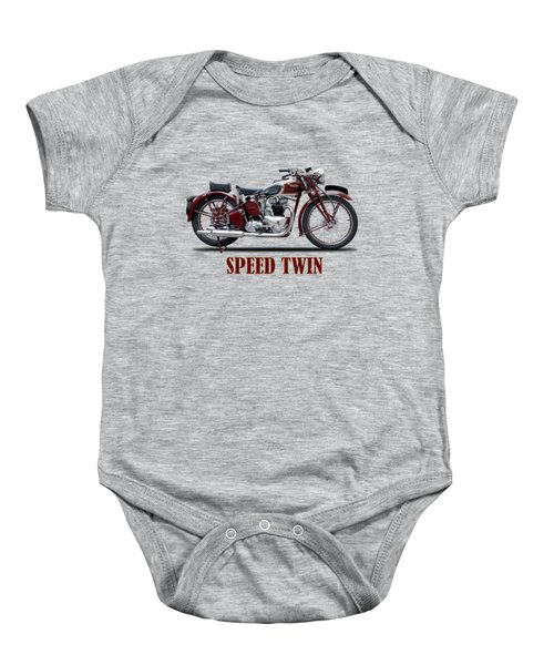 Speed Twin 1939 Baby Onesie