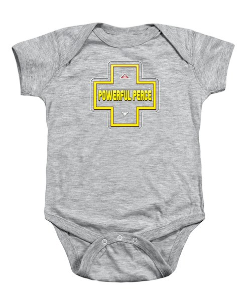 He Gives A Powerful Peace Baby Onesie